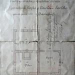 historický půdorys penzionu Kovárna